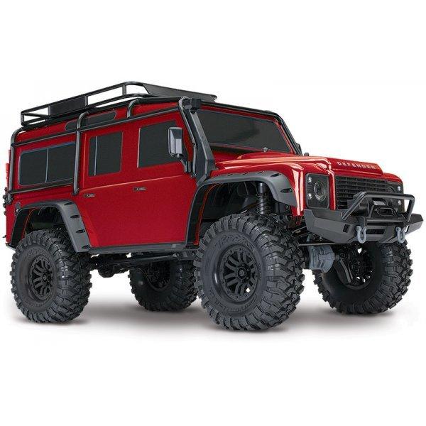 Remote Control Land Rover Defender Inclusief Snellader