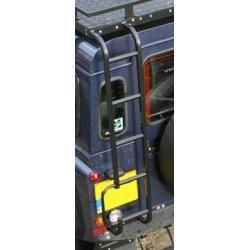 Ladder achterzijde chassis naar imperiaal (normaal dak) zwart
