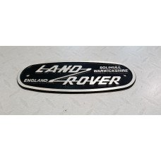 Land Rover Heritage logo 185x70mm