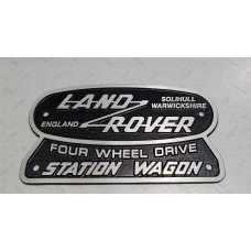 Land Rover Heritage logo 185x105mm