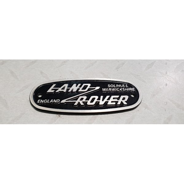 Land Rover Heritage logo 115x43mm
