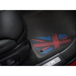 Rubberen matset Range Rover Evoque Union Jack Style Vanaf bouwjaar 2012