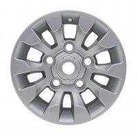 7x16 Sawtooth Style Silver
