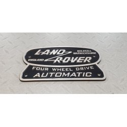 LAND ROVER HERITAGE LOGO 185X105MM AUTOMAAT