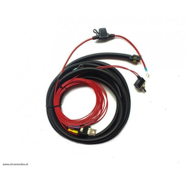 Lazer Bekabelingsset enkele lamp (ST / T-2 / TRIPLE-R)