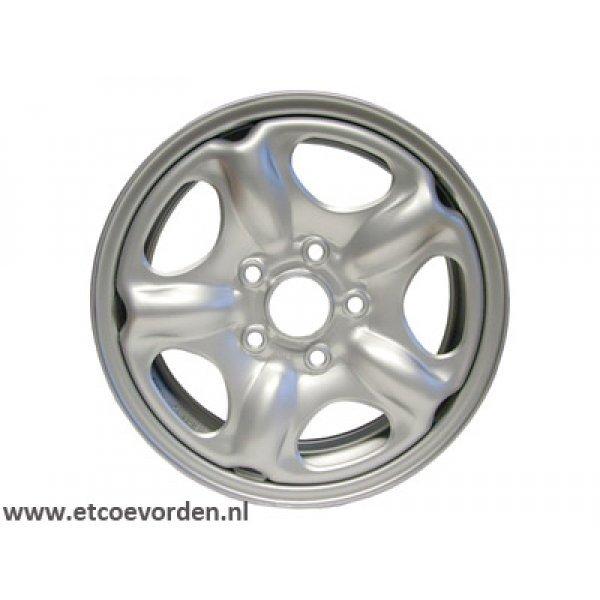 5.5x15 Zilver Standaard Staal
