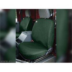 Waterbestendige stoelhoezen Voorkant Groen Defender tot 2007