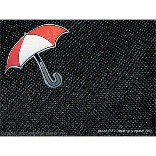 Waterbestendige stoelhoezen Achterkant Zwart Disco 3 35/30/35