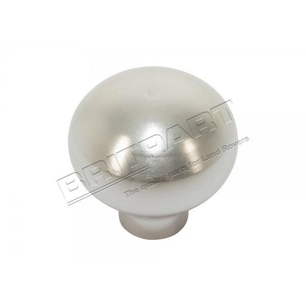 Ventilatieknop Defender tot 2007 Zilver