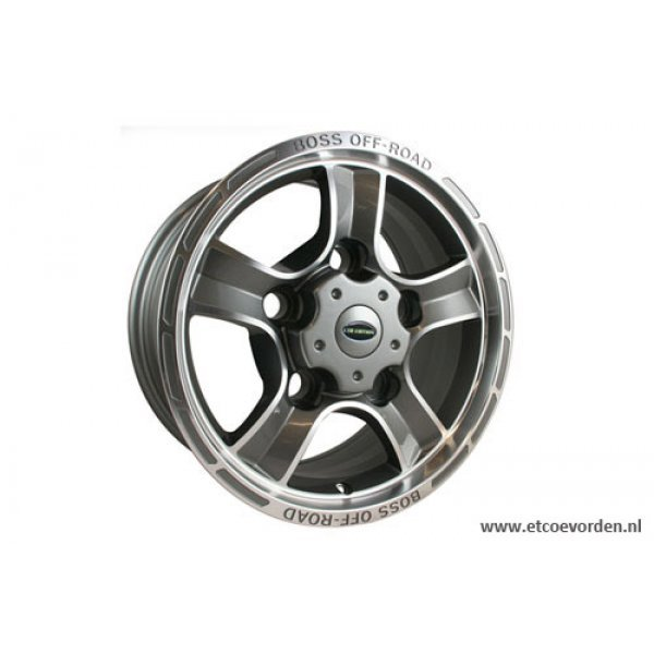 Boss Off Road Gun Metal en Zilver