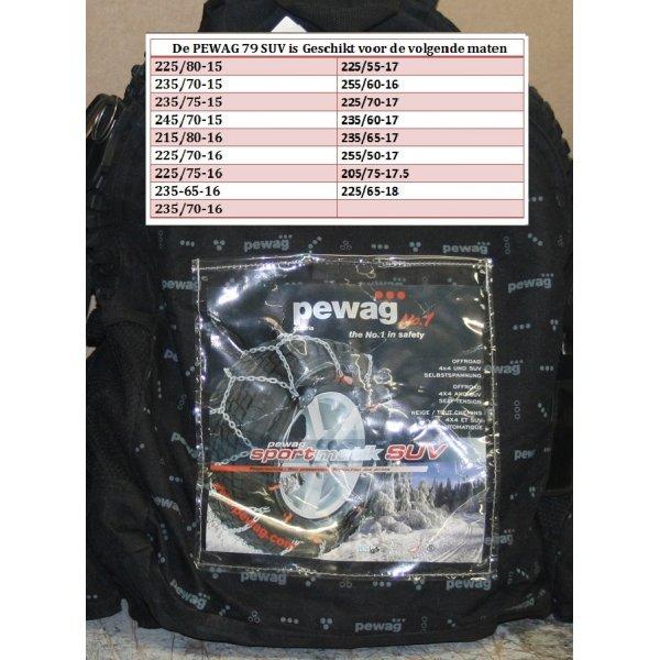 Pewag Sneeuwketting SUV79