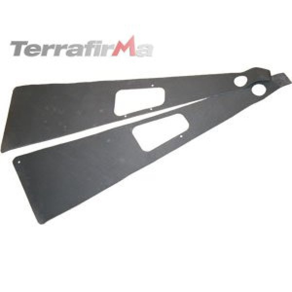 Traanplaat spatbord foam set Defender tot 2007