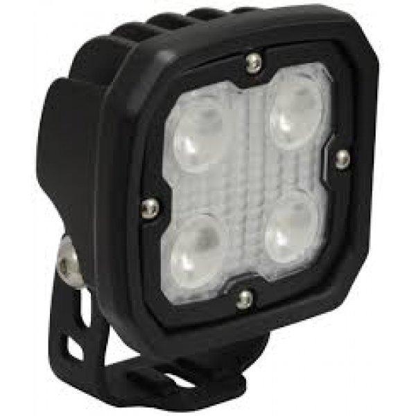 Werklamp met breedtestraler lens