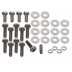 RVS boutset achterbalk chassis Defender/ Series