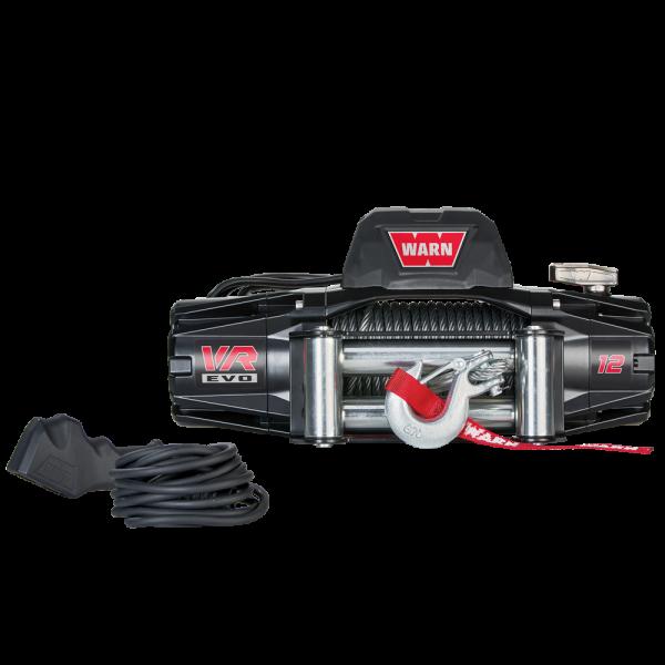 Warn VR EVO 12 12V DC staalkabel
