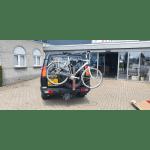 SpareRide op het reservewiel gemonteerde fietsendrager voor 2 fietsen voor de Discovery