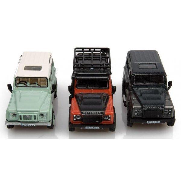 3 Delige Miniatuur Set Defender